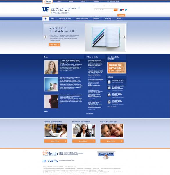 CTSI homepage
